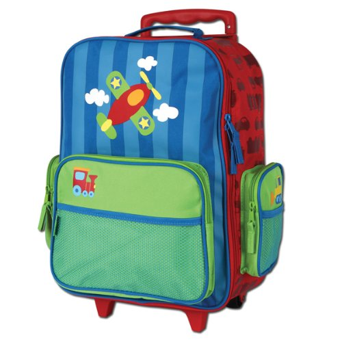 Stephen Joseph Boys 2-7 Rolling Luggage, Airplane, One Size