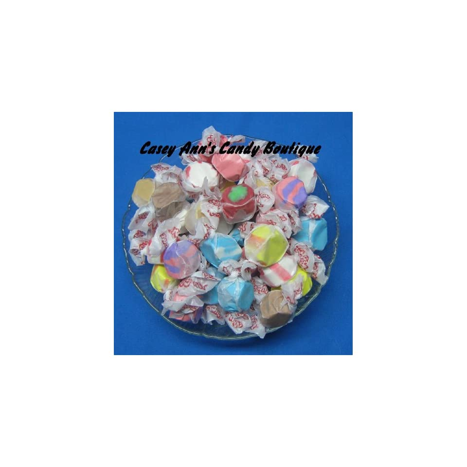 Licorice Swirl Flavored Taffy Town Salt Water Taffy 2 Pounds