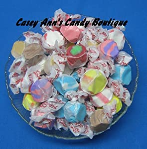 60 Flavor Assortment Taffy Town Salt Water Taffy 2 Pounds