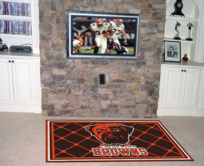 Fanmats Cleveland Browns 4x6 Rug