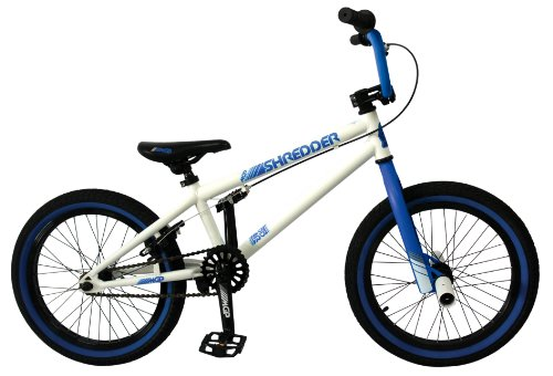 Madd Gear Shredder BMX Bike, Blue, 18-Inch