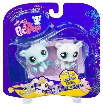Littlest Pet Shop Pet Pairs Twin Polar Bears - 1