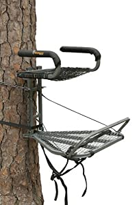 Ol'Man COM-09 Roost Fixed Position Steel Tree Stand, 22-Inch Wide Seat/22-Pound