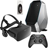 Oculus Rift 3 Items Bundle: Oculus Rift Virtual-Reality Headset & Alienware Area 51 Series Desktop Package 16GB 2TB 128SSD Bundle with Mytrix High Quality HDMI Cable