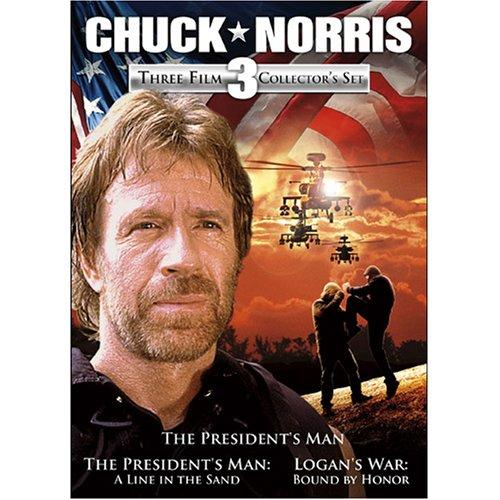 Amazon.com: Chuck Norris: Three Film Collection (The President's Man