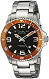 Stuhrling Original Men's 395.33I117 Aquadiver Regatta Champion Swiss Quartz Date Stainless Steel Link Bracelet Dive Watch