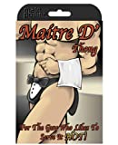 Male Power PAK704 Maitre D' Thong Black