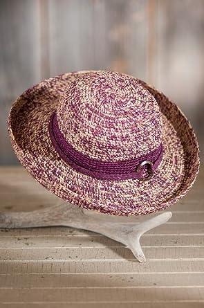 Women's Clarissa Crocheted Organic Raffia Hat