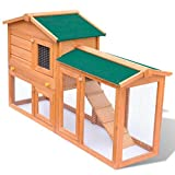 Anself-Outdoor-Large-Wood-House-Rabbit-Bunny-Hutch-with-Waterproof-Roof