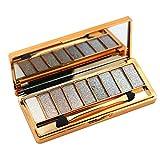 Contever® Pro Make Up Designer 9 Colori Shimmer Palette di ombretti Trucco Tavolozza 005