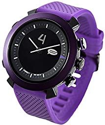COGITO Classic Smart Bluetooth Connected Watch for Smartphones - Deep Purple