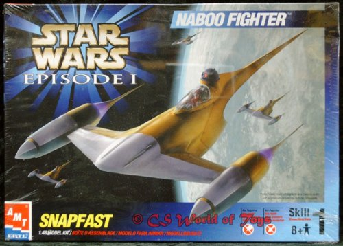 Naboo Fighter Star Wars Model Kit (Star Wars Amt Model Kit compare prices)