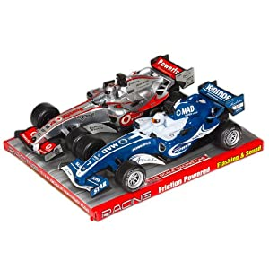 Formula 1 Racing Car 2 Pack with Lights and Sound