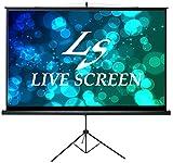 LIVE SCREEN (三脚式) 16:9 100インチ プロジェクタースクリーン