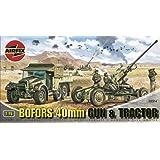 Airfix A02314 Bofors 40mm Gun & Tractor 1:76 Scale Series 2 Plastic Model Kit