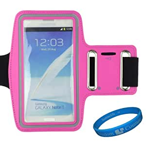 Sumaccn HotPink Workout Gym Armband Pouch Case