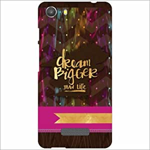 Micromax Unite 3 Q372 Back Cover - Silicon Dream Big Designer Cases