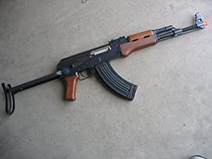 DE AK-47S Metal Electric Airsoft Assualt Rifle Gun 425 FPS