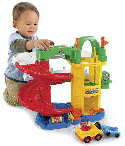Fisher price little people racin ramps garage by fisher - Fisher price little people racin ramps garage ...