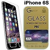 Gorilla Tech® Premium de film Invisible shield HD Protection d'écran en verre trempé Dureté 9H Transparent qualité HD Anti-bris Transparent et résistant aux rayures pour Apple iPhone