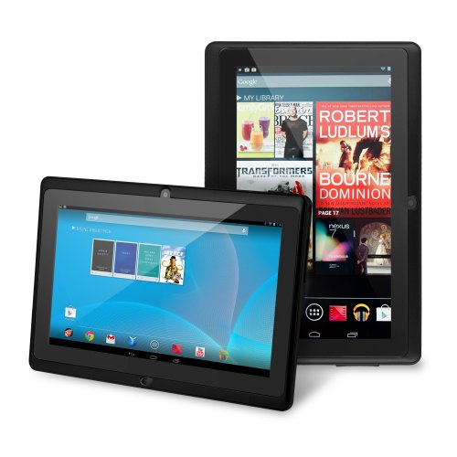 "Chromo Inc® 7"" Tablet Google Android 4.1 With Touchscreen, Camera, 1024X600 Resolution, Netflix, Skype, 3D Game Supported - Black [New Model June 2014]"