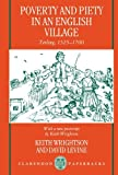 img - for Poverty and Piety in an English Village: Terling, 1525-1700 (Clarendon Paperbacks) [Paperback] [1995] (Author) Keith Wrightson, David Levine book / textbook / text book