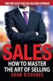 img - for Sales: How To Master The Art Of Selling: Your Non Sleazy Used Car Salesman Approach book / textbook / text book