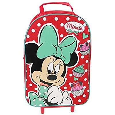 Disney Minnie Mouse Dotty Day Out Basic Wheeled Bag by Trade Mark Collections