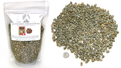 Sumatra Lintong Arabica, Unroasted Green Coffee Beans (1 LB)