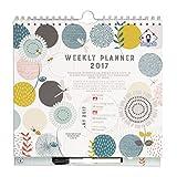 Organised Mum 2017 Weekly Planner in ENGLISCHER SPRACHE Wochenkalender mit