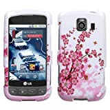 Protector Phone Cover Case for LG Optimus S / Optimus U LS670 - Spring Flow ....