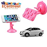 ECellStreet TM 360° Degree Rotating Multi-function Stand Bracket Mounts Placing Plate Suction Cup Sucker Honda...