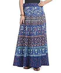 Soundarya Women Cotton Jaipuri Printed Skirt