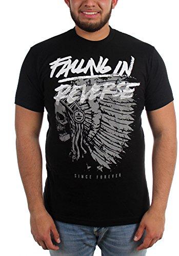 Falling In Reverse-Chief-Maglietta da uomo Nero  nero