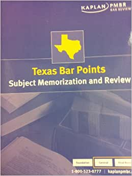 texas bar essays