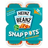 Heinz Reduced Sugar & Salt Snap Pots 4 x 200g