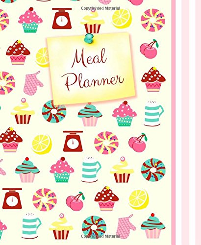 Meal Planner: Weekly Menu Planner with Grocery List [ Softback * Large (8