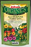Jobe's 6528 Organic All Purpose Fertilizer Food Spikes, 50-Pack