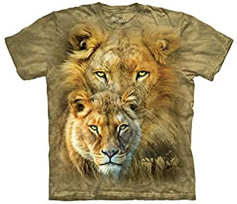 Tee shirt Lion - African Royalty Taille S - adulte