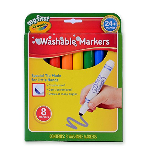 Crayola My First Crayola Washable Markers 8ct