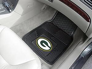 FANMATS NFL Green Bay Packers Vinyl Car Mat by FANMATS