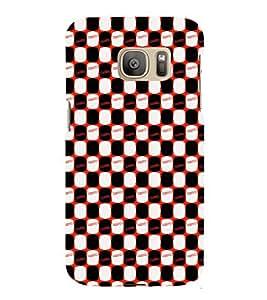 EPICCASE stumbed patterns Mobile Back Case Cover For Samsung Galaxy S7 Edge (Designer Case)