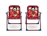 Delta Children TT89508MM set de mobiliario exterior - sets de mobiliario exterior (Rojo, Tela, Metal, 50 cm, 50 cm, 46 cm)