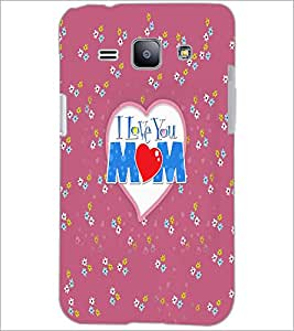 PrintDhaba Quote D-5579 Back Case Cover for SAMSUNG GALAXY J1 (Multi-Coloured)