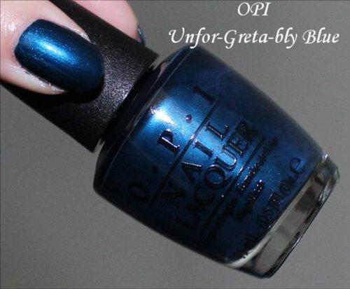 Opi Unfor-Greta-Bly Blue