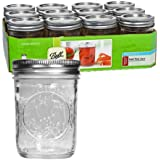 Ball Canning Regular Mouth Half Pint Canning Jar 8 oz. 12-Count