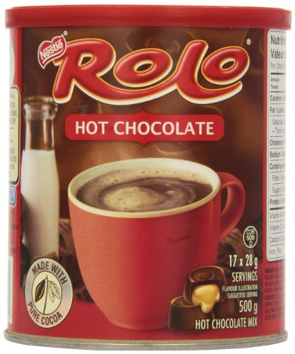 Carnation Rolo Hot Chocolate, 500g Canister