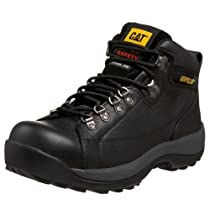 Hot Sale Caterpillar Men's Hydraulic Mid Cut Steel Toe Boot,Black,13 W US
