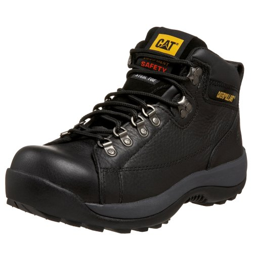 Caterpillar Men's Hydraulic Mid Cut Steel Toe Boot,Black,12 W US