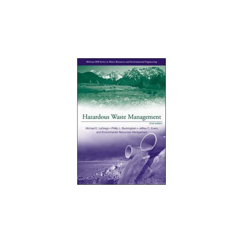 Hazardous Waste Management (9780070393653) Michael